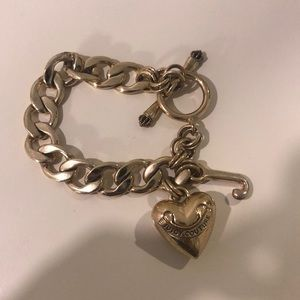 Juicy Couture Jewelry - Juicy Couture Gold Heart Bracelet